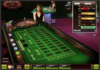 live casino betting