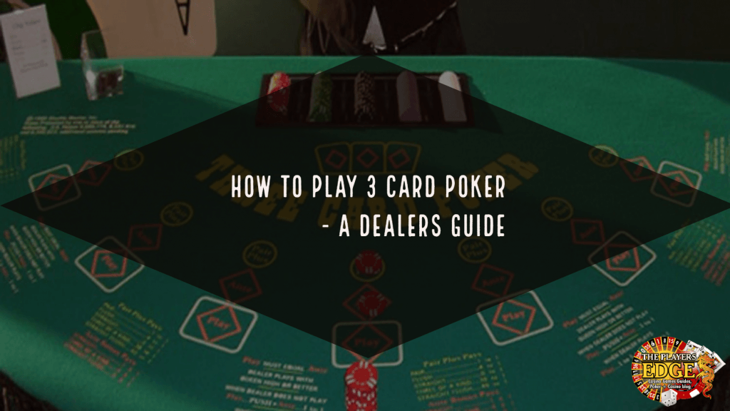how to play 3 card poker