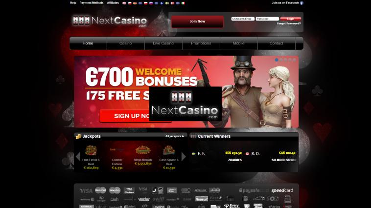 next casino online casino and slots