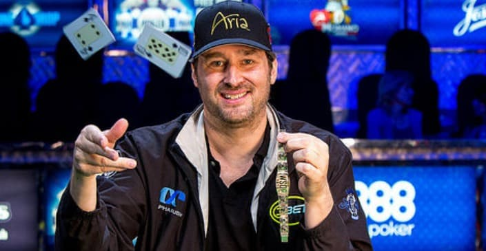 interview of Phil Hellmuth professional poker player