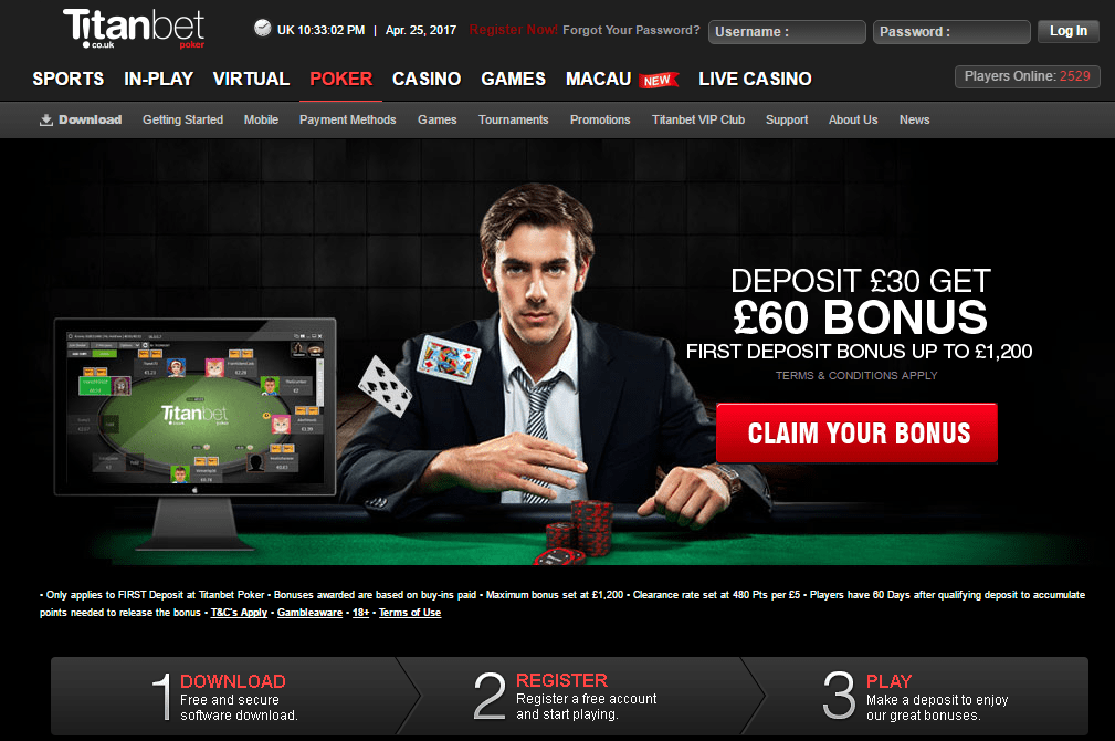 titanbet-poker Best online casino sites