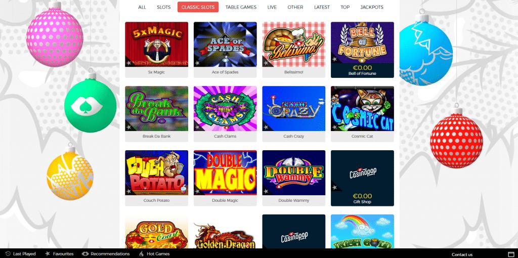 casinopop classic slots