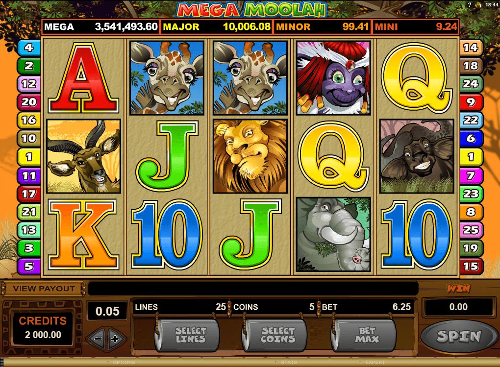 mega moolah jackpot mobile casino slots