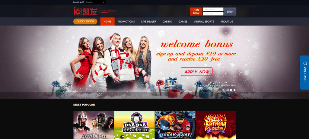 online slots asian fortune
