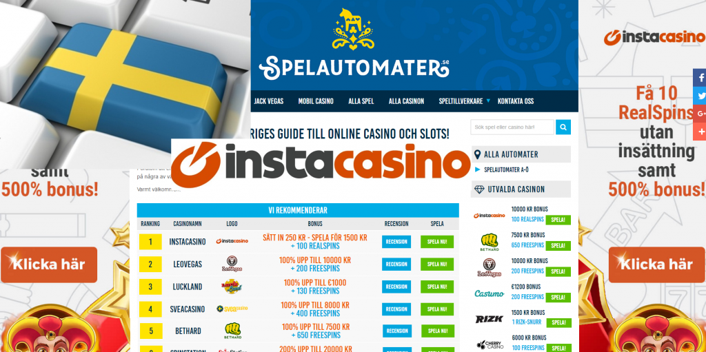 swedish online casino instacasino