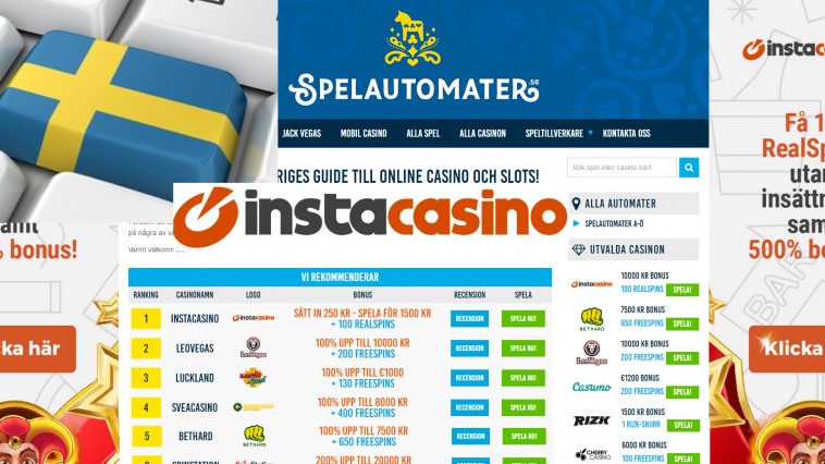 swedish online casino instacasino