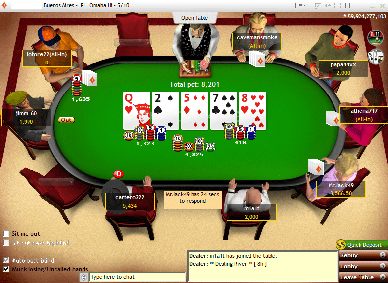 partypoker classic client