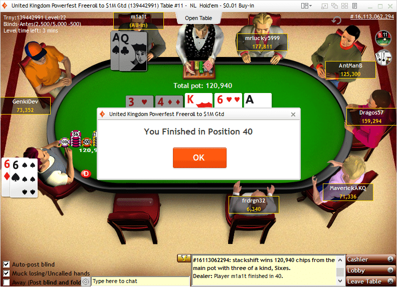 partypoker freeroll to $1m