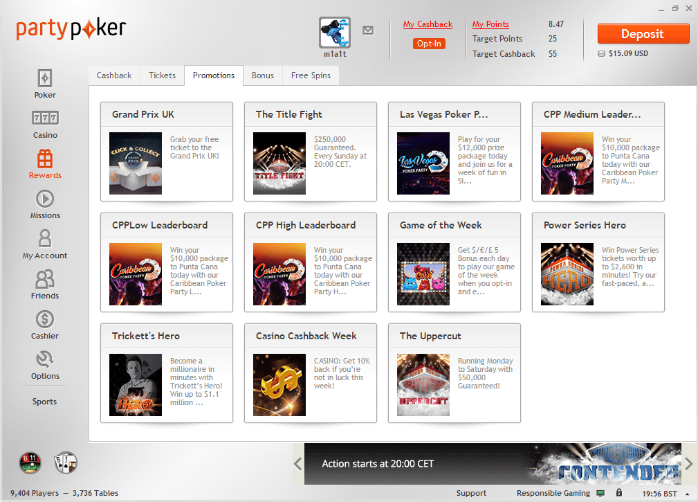 partypoker promotions