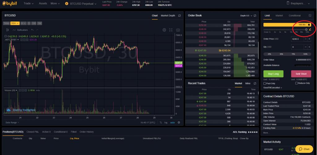 bybit leveraged margin trading