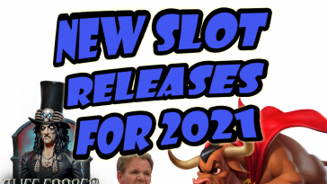 new slots releases for 2021